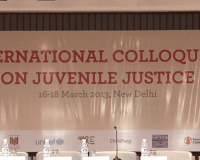 Backdrop of the Juvenile Justice Colloquium
