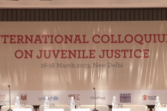 International Colloquium on Juvenile Justice, 16-18 March 2013, New Delhi