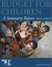 Budget for Children: A Summary Report