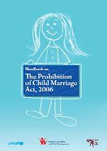 Handbook on The Prohibition of Child Marriage Act, 2006