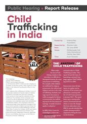 Child Trafficking in India Handout